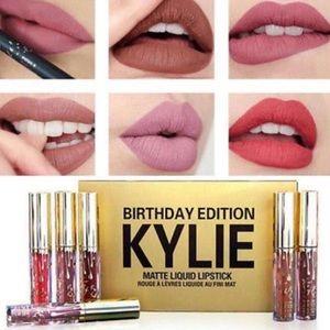 Kylie Birthday Kollection Lipstick And Lip Gloss